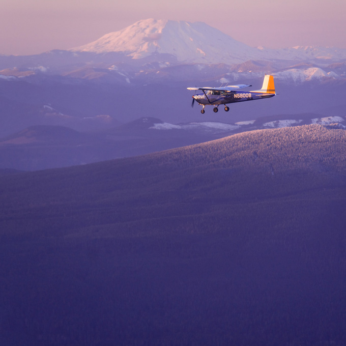 Mount Hood Flight