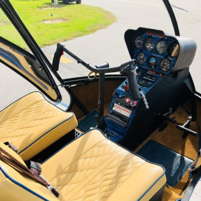 Helicopter Tour over St. Petersburg in Florida