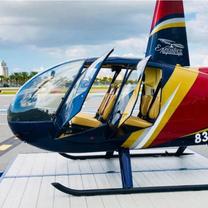 Private Helicopter Tour over St. Petersburg, FL