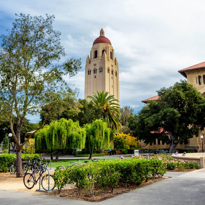Sightseeing in Stanford