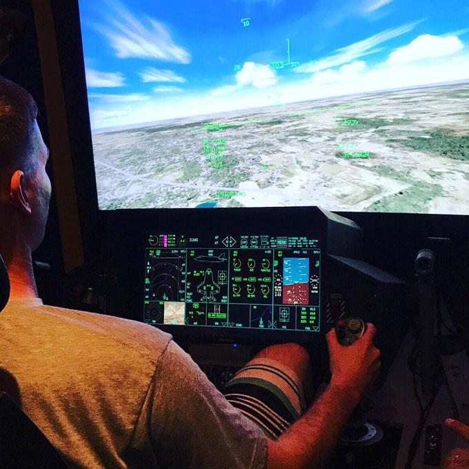 30 Minute Flight in a Fighter Jet Flight Simulator