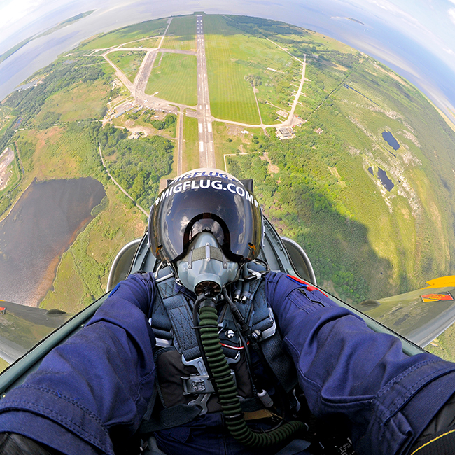 Fighter Pilot Experience near Orange County