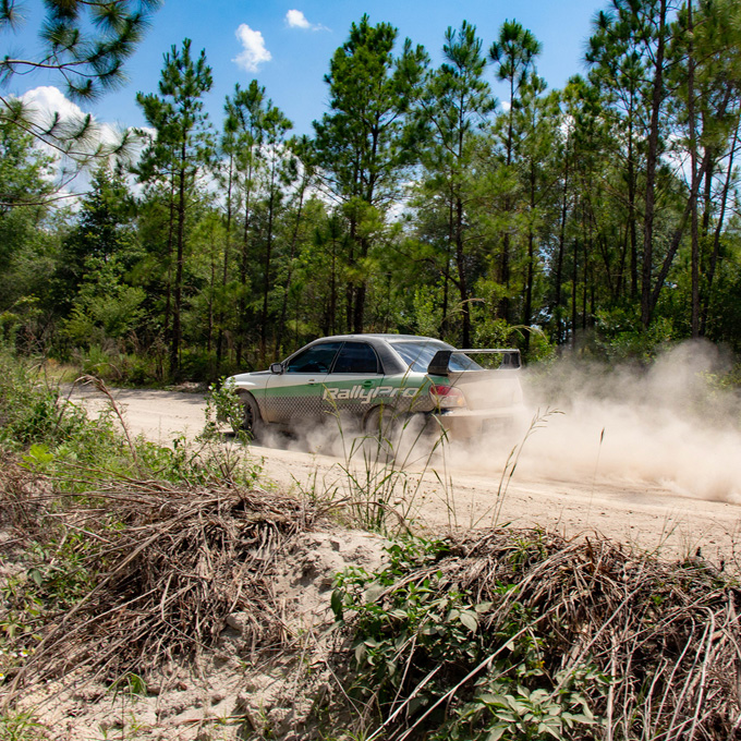 Rally Driving Experience near Jacksonville