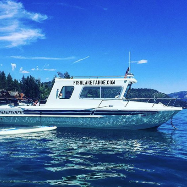 Private Boat Charter on Lake Tahoe