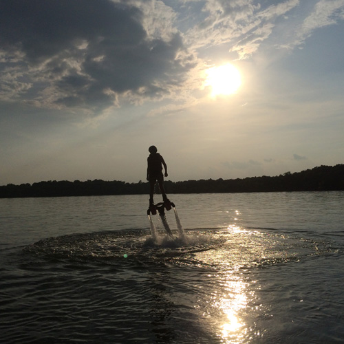 Flyboarding in Nashville, TN