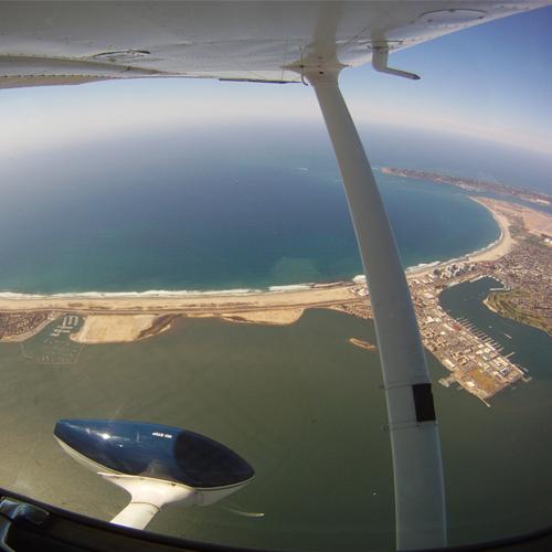 Aerial View San Diego