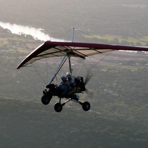 Hang Glide in a Trike