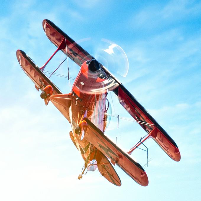 Aerobatic Biplane Ride in Dallas