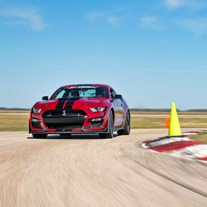 Race a Ford Mustang Shelby GT500 in Texas