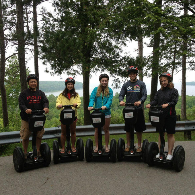 Ride a Segway in Peninsula State Park