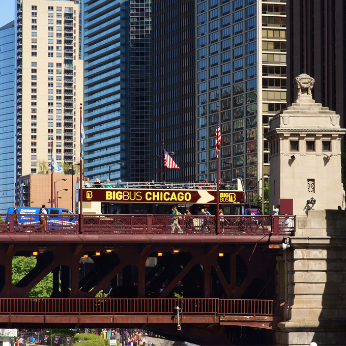 Big Bus Tour in Chicago