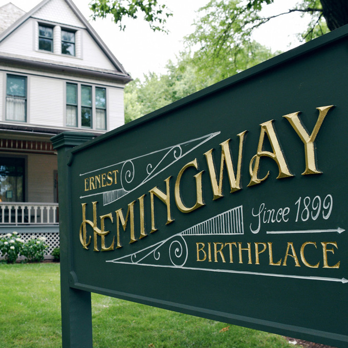 Visit Earnest Hemingway's Birthplace