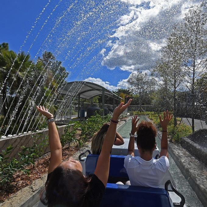 Miami Zoo Boat Ride