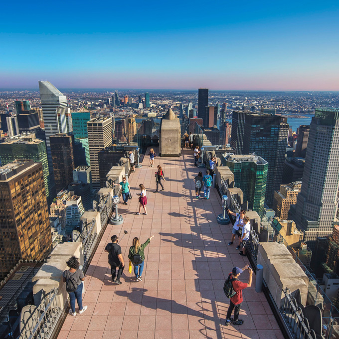 Visit Top of the Rock in New York City