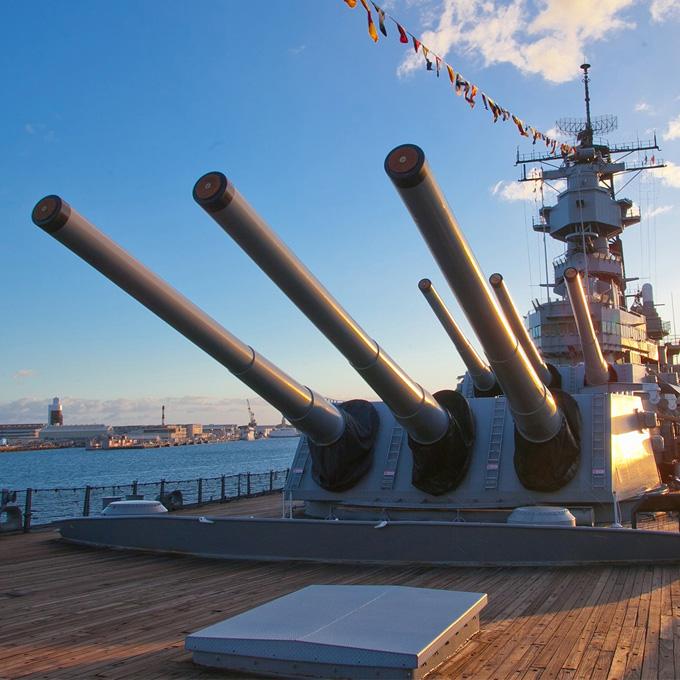 Visit the Battleship Missouri - Oahu