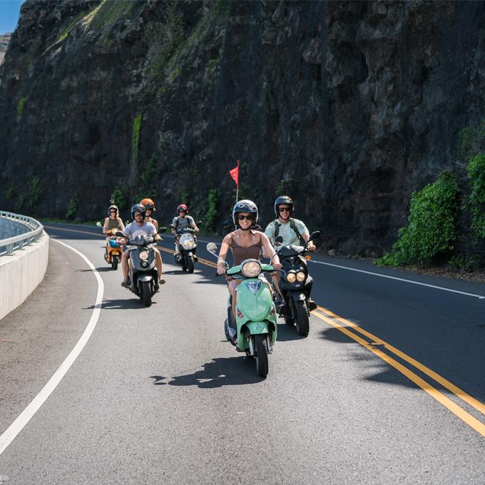 Moped Rental in Oahu, Hawaii