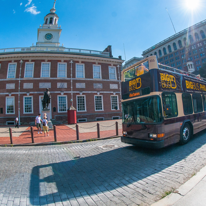 Big Bus Tour of Philadelphia