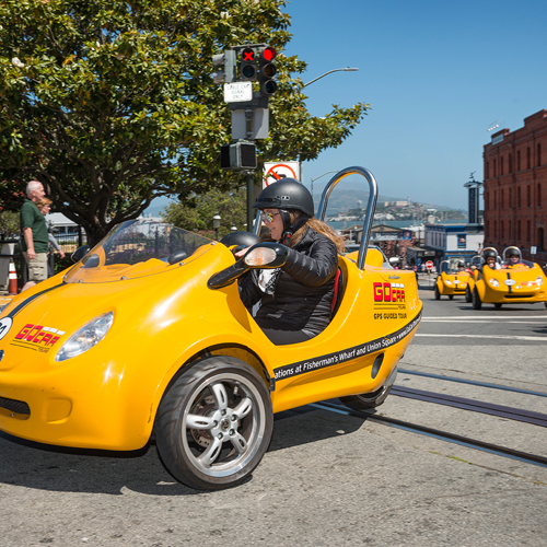 GPS Guided Tour of San Francisco
