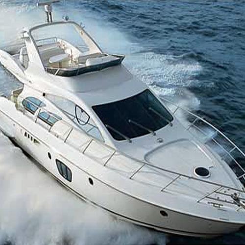 Private 55 Azimut Yacht Charter in Sea Isle Marina Miami