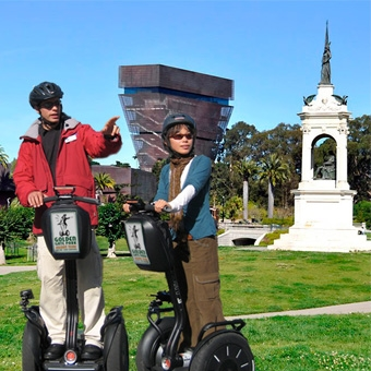 San Francisco Golden Gate Park Segway Tour
