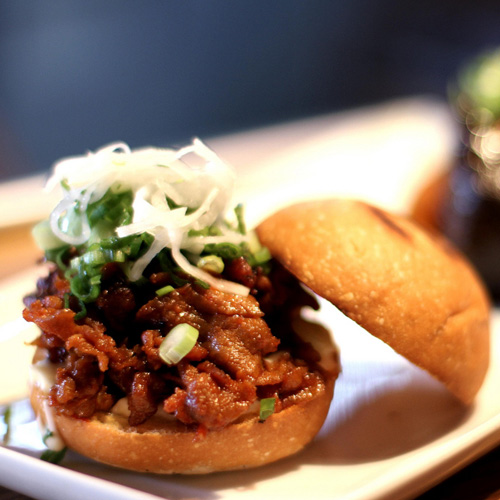 Pork Slider on Gourmet Food Tour in Seattle