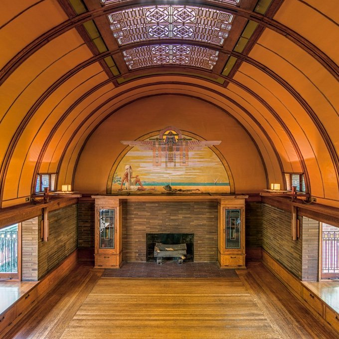 Tour Frank Lloyd Wright Home and Studio