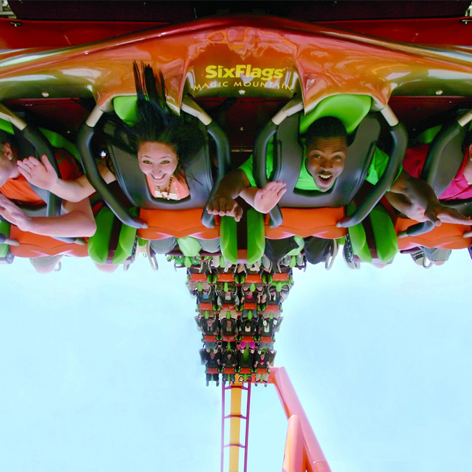 Six Flags Admission - Los Angeles