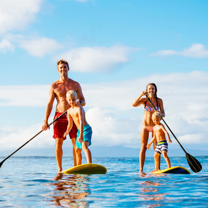 Take a Dip with Sunset Watersports