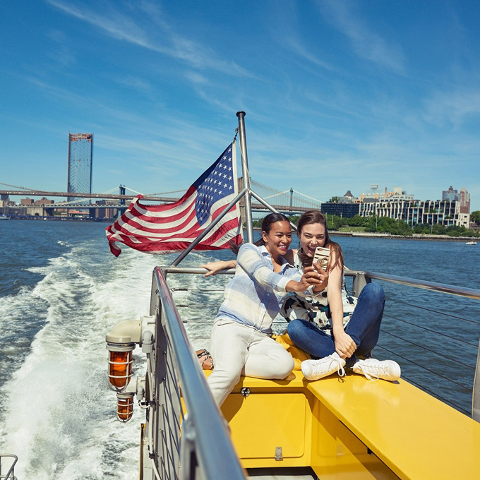Ride a Water Taxi In New York, New York