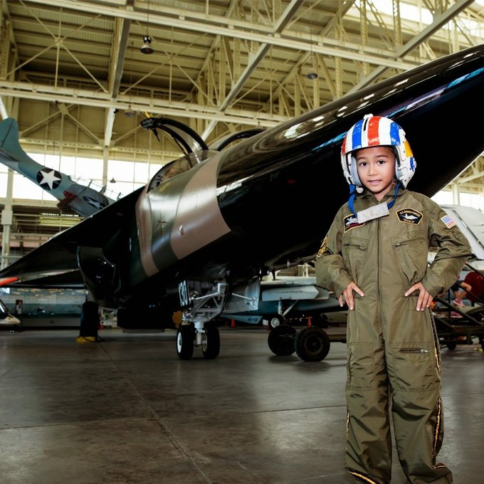 Visit the Pacific Aviation Museum in Oahu