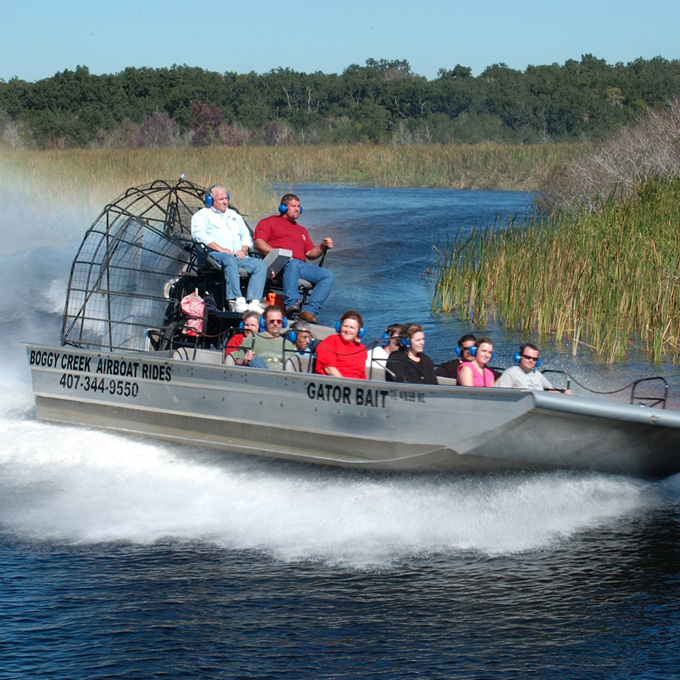 Boggy Creek Airboat Rides - Florida