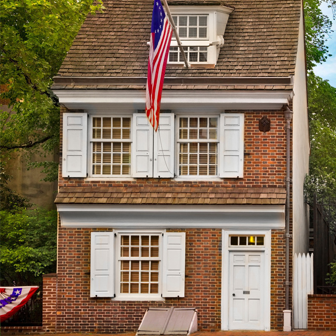 Tour the Betsy Ross House - PA