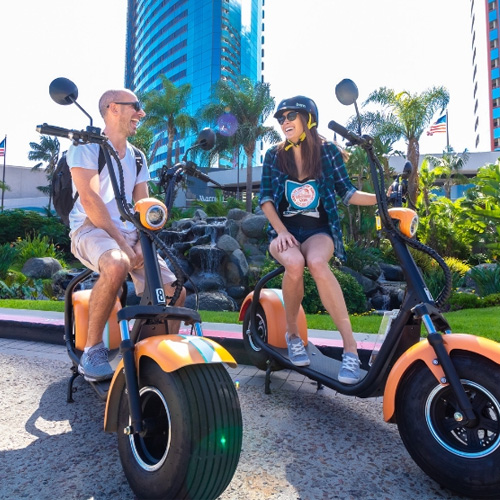 Scooter Tour in San Diego