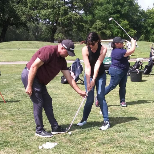 Golf Lesson with PGA Class A Professional Dave Carr