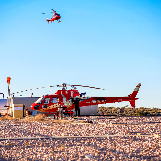 Grand Canyon Scenic Helicopter Tour from Peach Springs, AZ