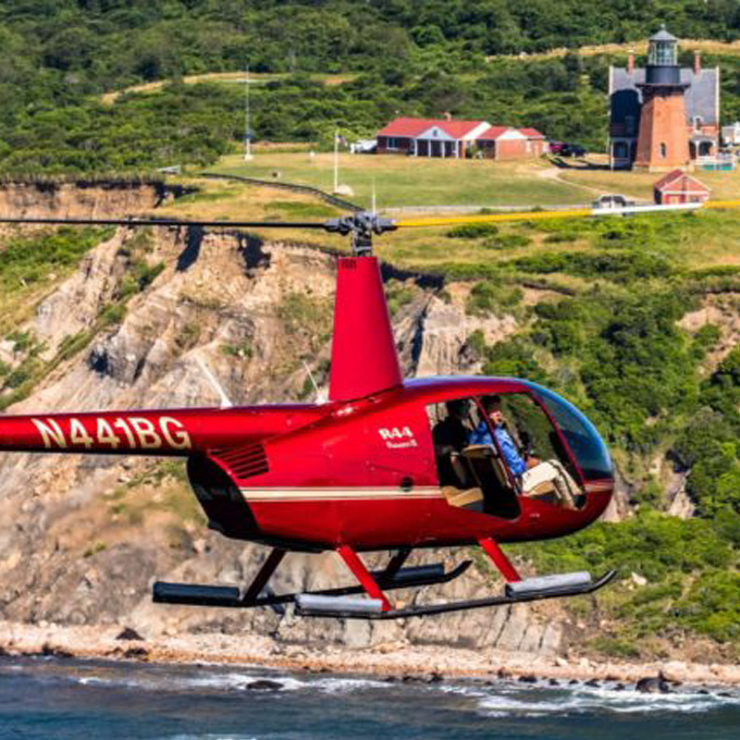 New England R44 Helicopter Tour from Rhode Island