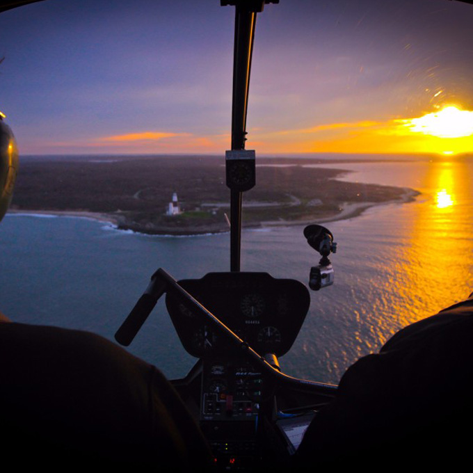 Romantic Helicopter Tour in Rhode Island