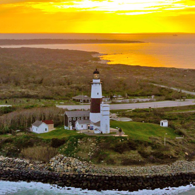 Romantic Lighthouse Helicopter Tour from Westerly, RI
