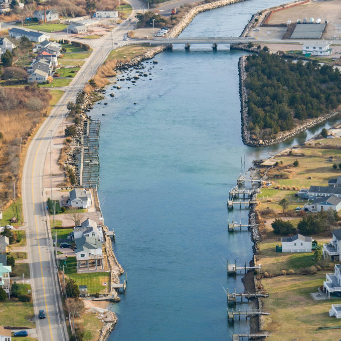 See Misquamicut from the Air
