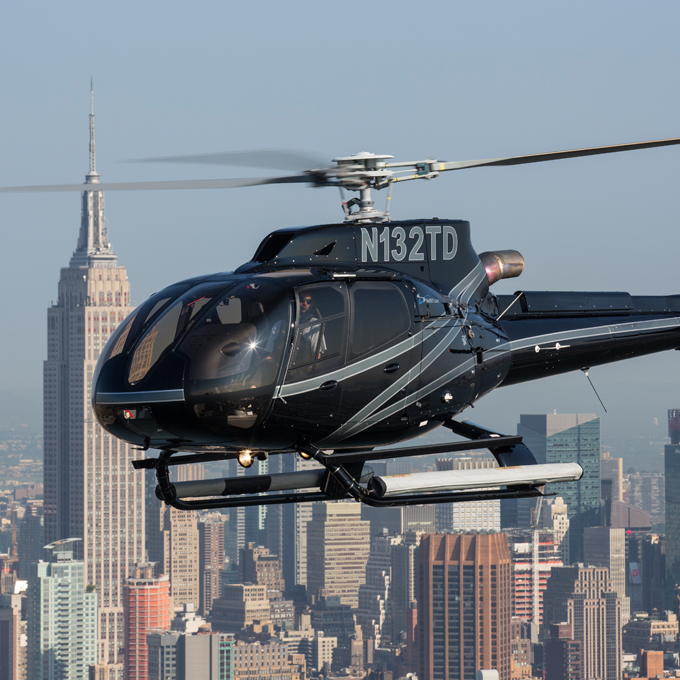 City Skyline Helicopter Tour in New York City