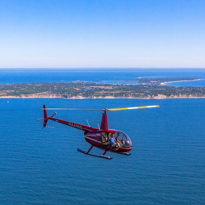 See Block Island from the Air in New Shoreham, RI