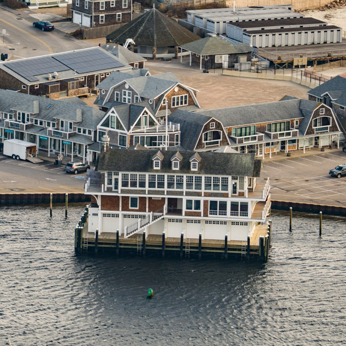 Take in Watch Hill from a Helicopter from Westerly, RI