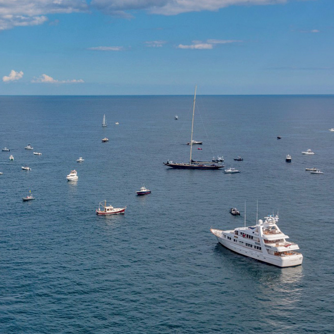 Block Island Helicopter Tour in Rhode Island