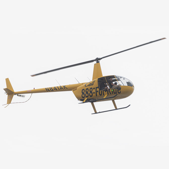 Helicopter Sightseeing Tour near Orlando