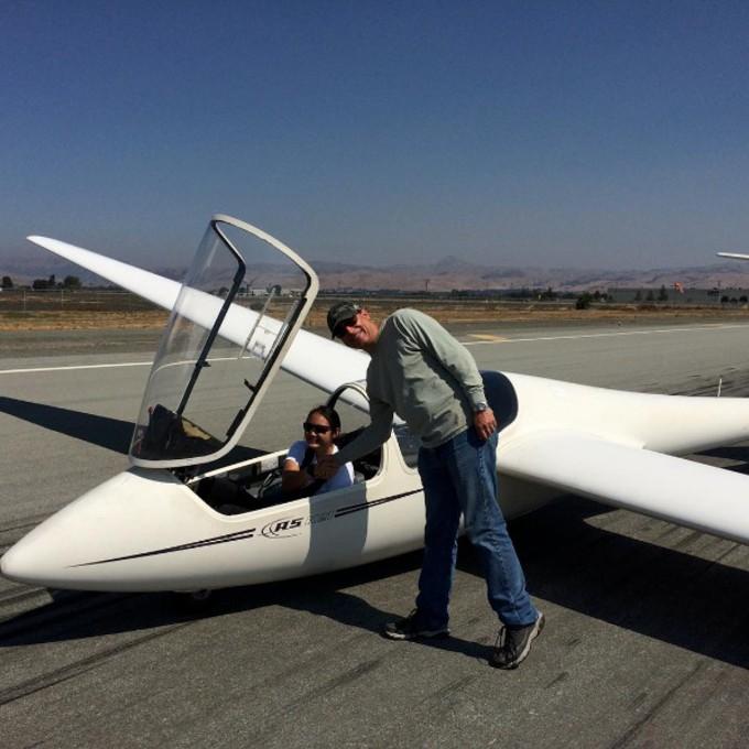 Scenic Glider Ride in California