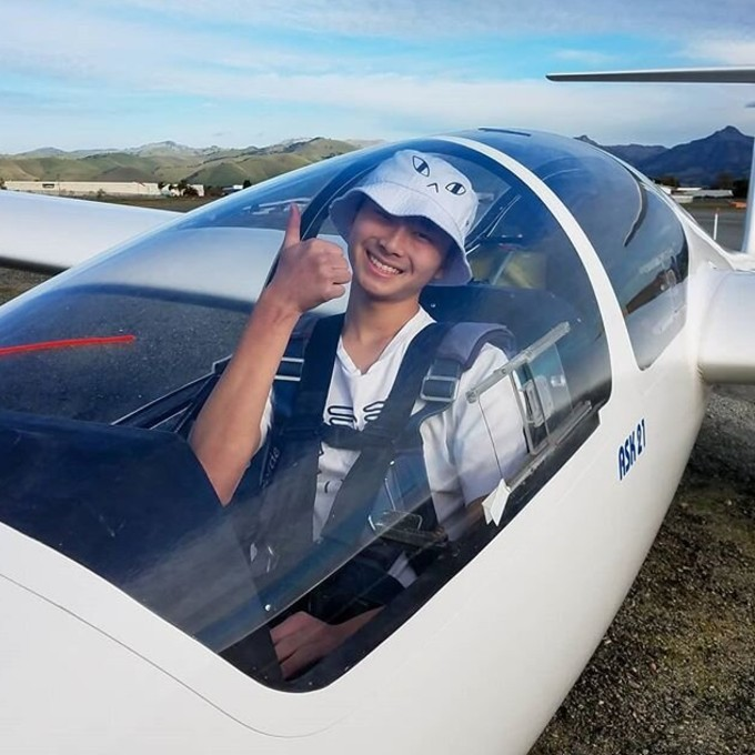 Glider Ride Experience in Hollister, CA
