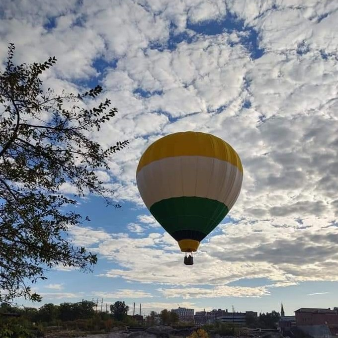 Romantic Hot Air Balloon Ride in Maine