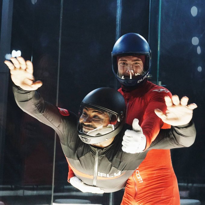 Indoor Skydiving Free Fall