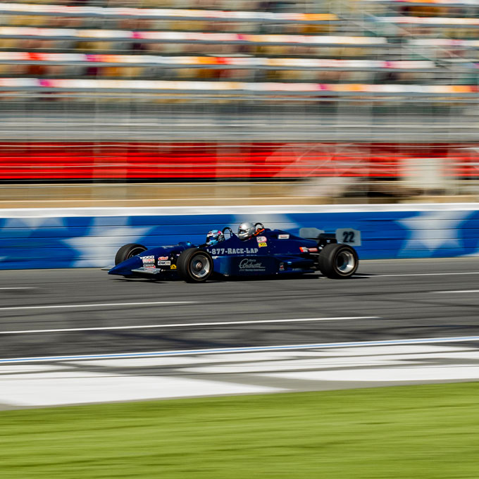 Indy Car Racing Experience at Auto Club