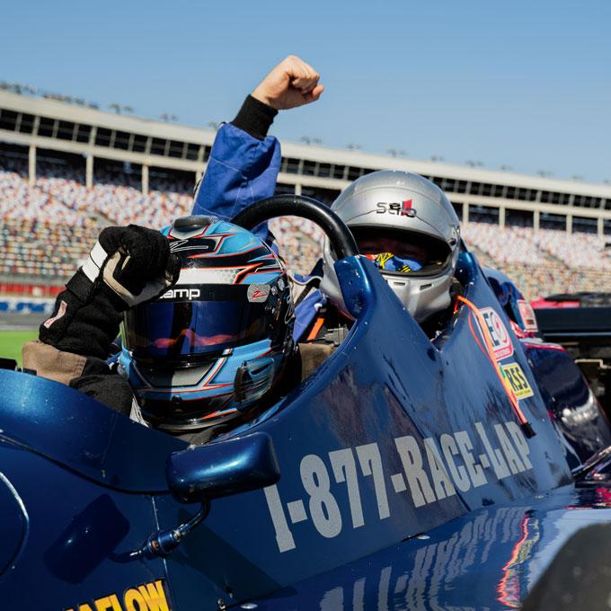 Indy Car Ride Along in Atlanta